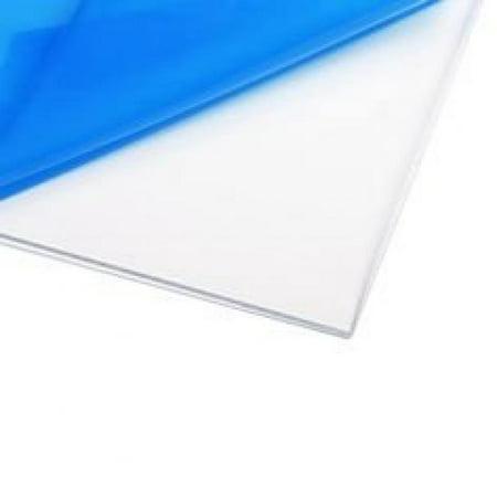 Source One Premium 1/4 Clear Acrylic PlexiGlass Sheet 12 x 12 Inches (S1-12x12-.25) ()