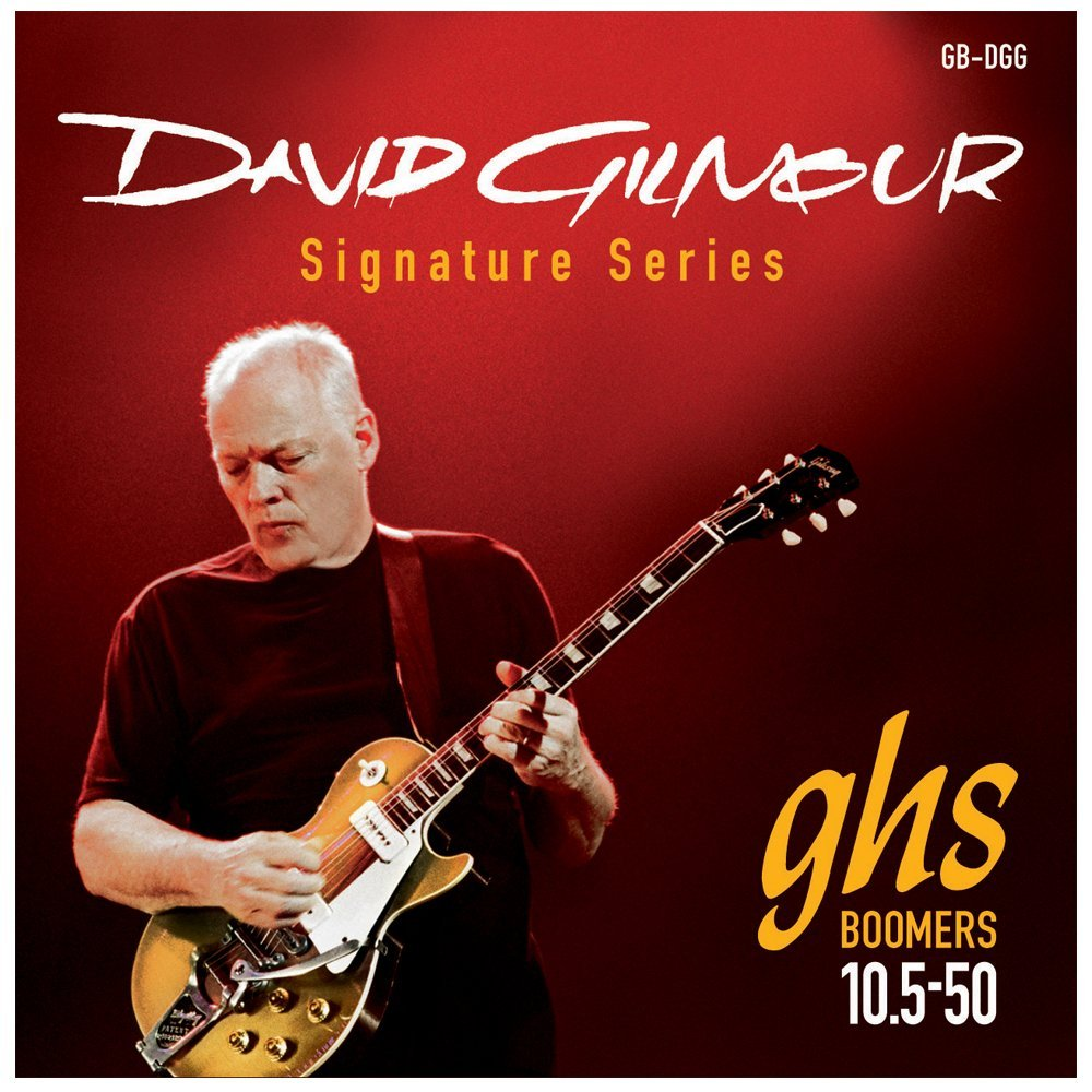 GB-DGG David Gilmour Signature Series, Nickel-Plated Electric Guitar Strings (.010 1... by