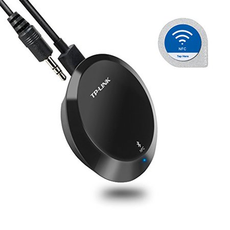 TP-Link NFC-Enabled Bluetooth 4.1 Receiver, Wireless Audio Adapter Streaming Music from Echo Smart Phone Tablet PC to Home Car Stereo Sound System.., By (Stream Music From Pc To Stereo Receiver Wirelessly)