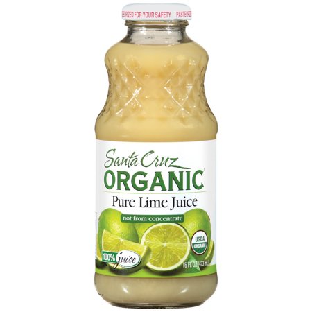 santa cruz organic pure lime juice 16 fl oz 1 ct