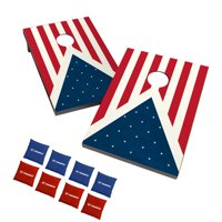 Triumph Outdoor Tournament Moisture Resistant Patriotic Bean Bag Toss Game Set