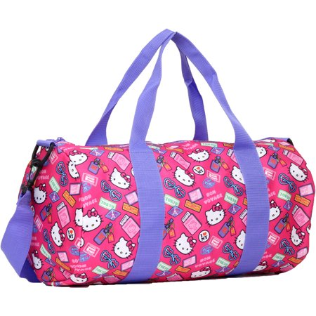 9199df7e34 Hello Kitty Bon Voyage Barrel Duffle Bag - Walmart.com