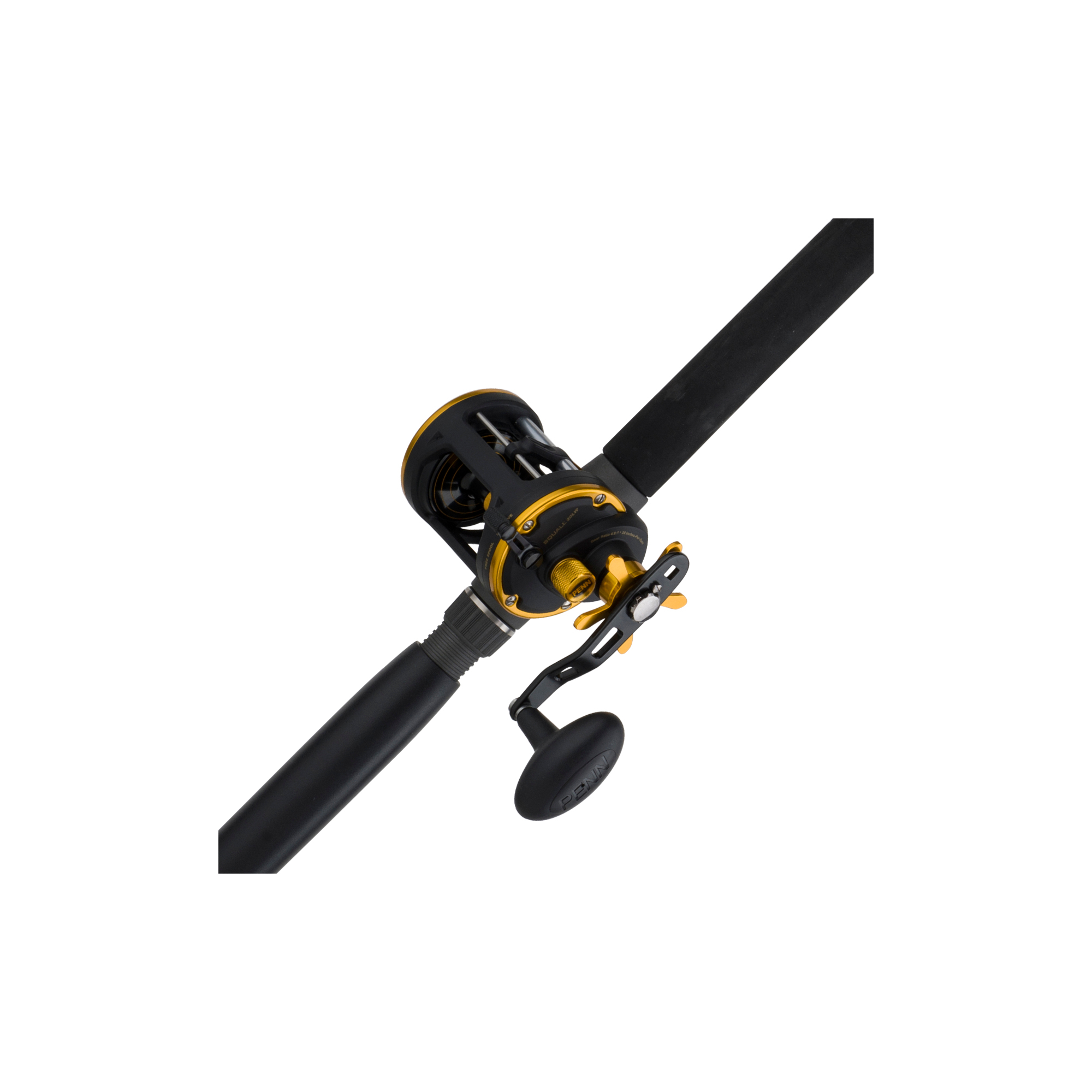 Penn Squall Level Wind Conventional Reel and Fishing Rod Combo by Penn