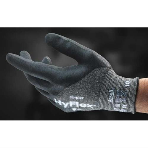 Ansell Size 11 Cut Resistant Gloves,11-537