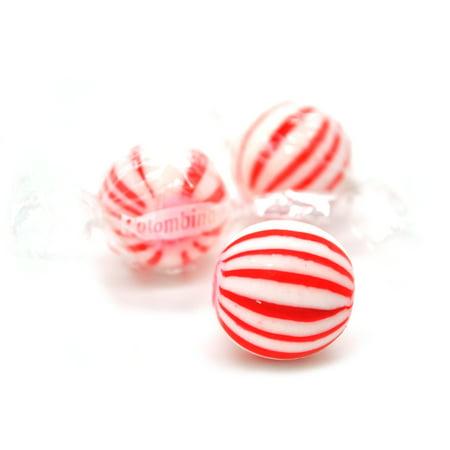 SweetGourmet Jumbo Peppermint Balls |Mint Hard Candy Bulk | Kosher | 15oz (Peppermint Snaps)