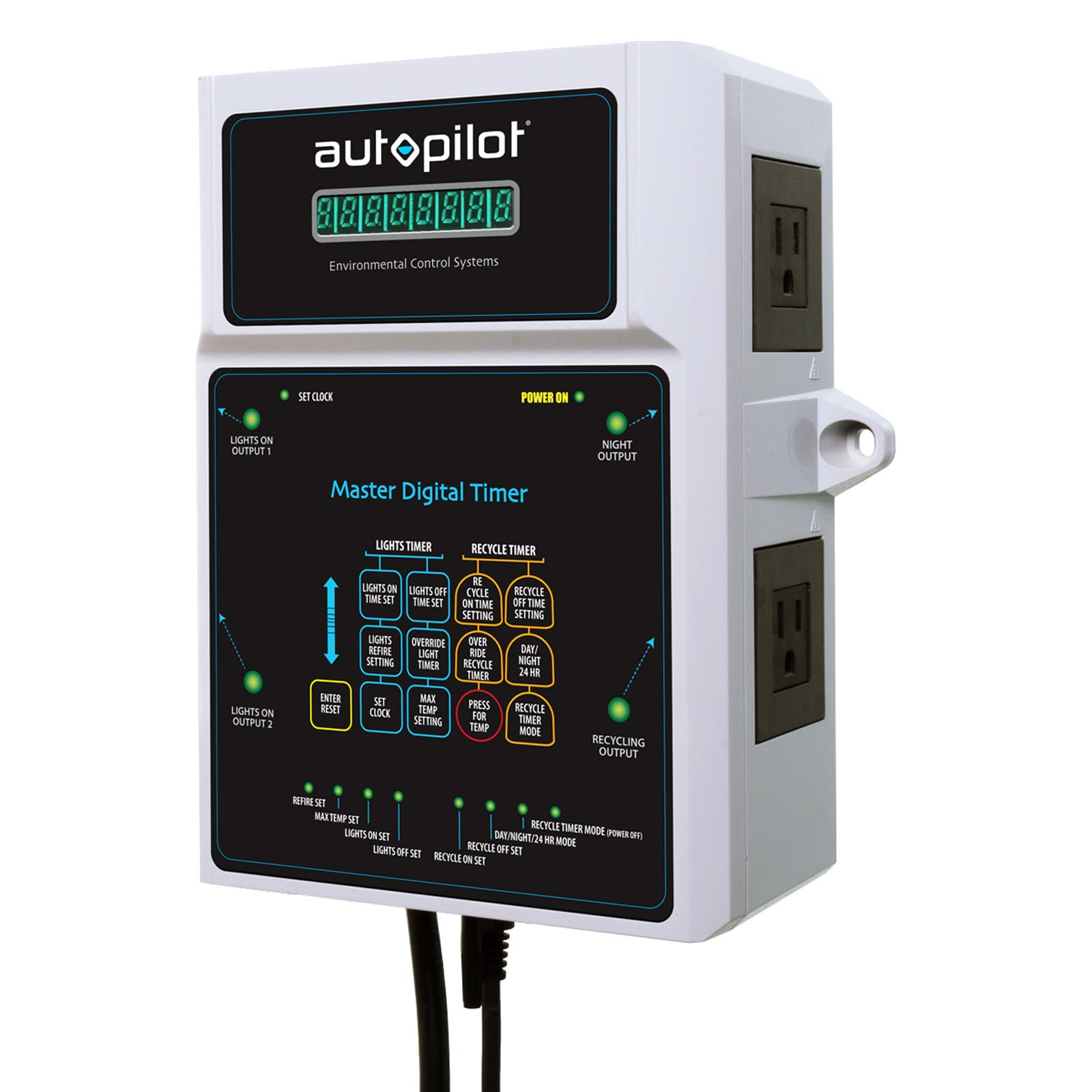 Autopilot Master Digital MDT Combination Recycling & Lighting Timer | APCTMDT