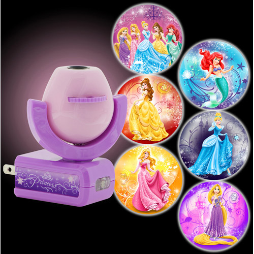 Night Light, LED Projectables 6 Image Plug-In, Disney Princess