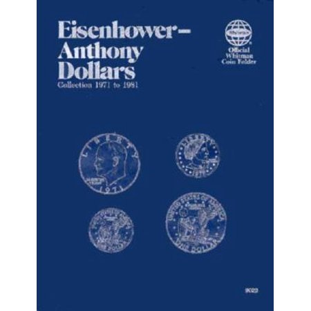 Coin Folders Dollars : Eisenhower-Anthony