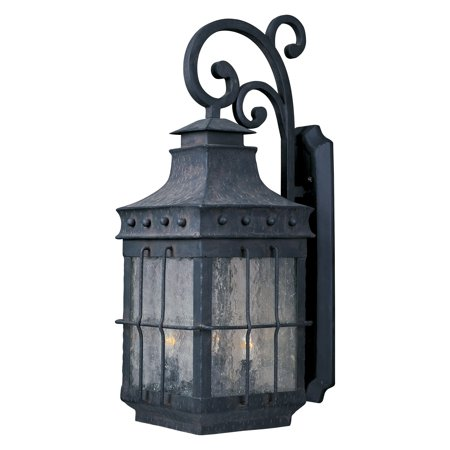 Maxim Nantucket Outdoor Wall Lantern   22 5H In  Country Forge