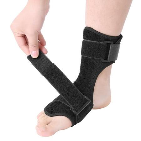 Ymiko Foot Drop Corrector, Foot Drop Brace,Foot Drop Splint Orthotics Fracture Sprain Injury Support Wrap Ankle