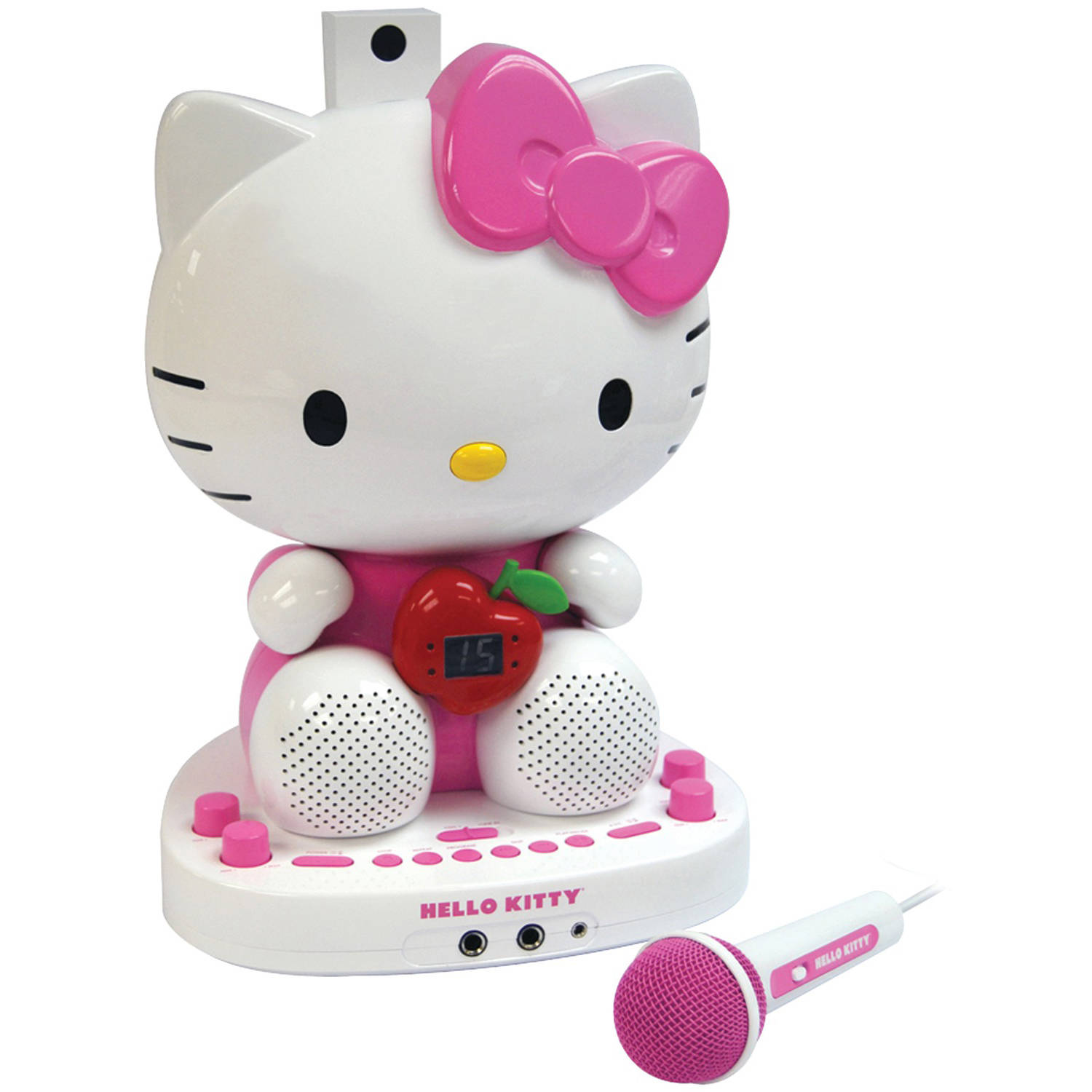 Hello Kitty KT2007 Karaoke System with Built-In Video Camera