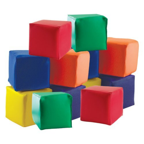 Toddler Blocks in Primary Color