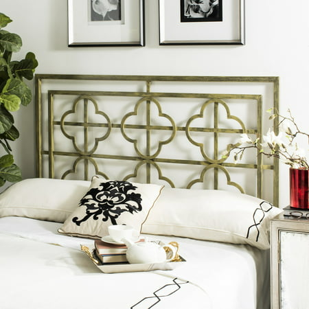 Safavieh Lucinda Geometric Glam Metal Headboard ()