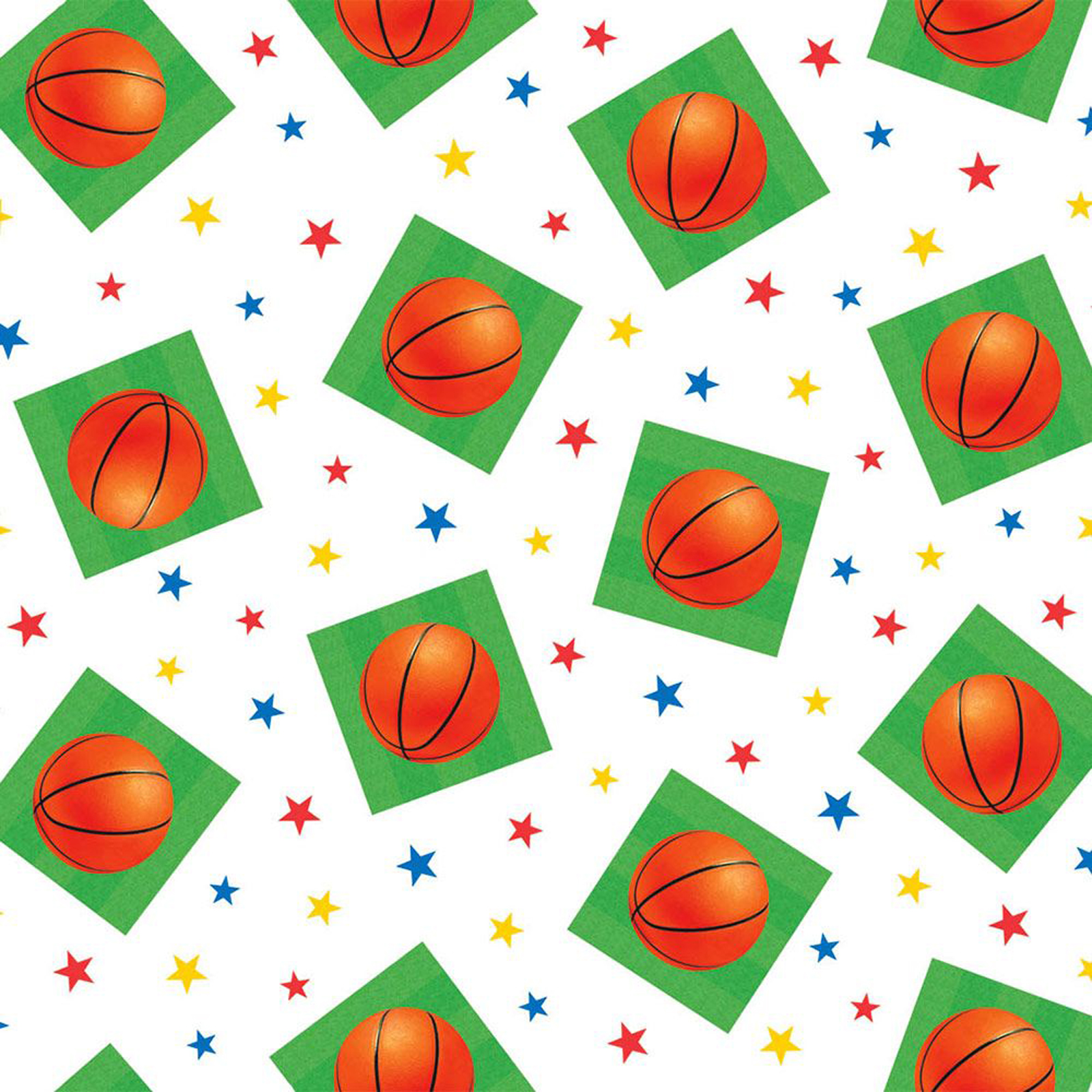 Basketball Plastic Table Cover