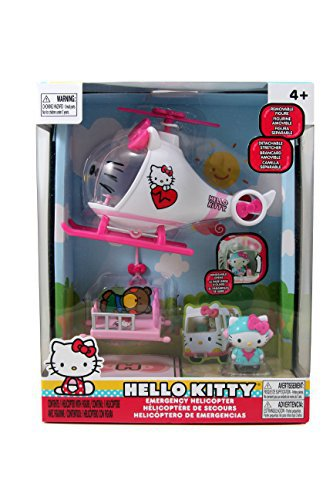 Hello Kitty Emergency Helicopter by