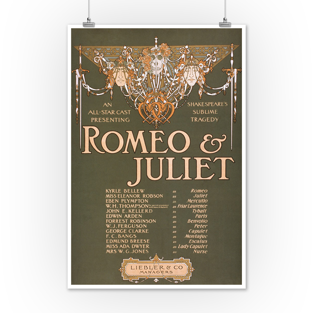 Shakepeare\'s Sublime Tragedy Romeo & Juliet - Vintage Theater ...