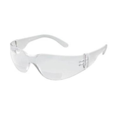Gateway Safety 46MC15 Safety Glasses, Starlite Mag, Clear Wraparound Bi-focal Lens, 1.5 Magnification, Clear (Best Drum Mag For Ar 15)