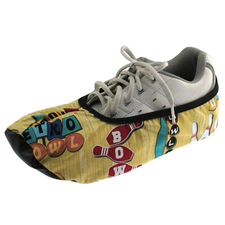 Master Women's Bowling Shoe Covers Pins, Small/Medium