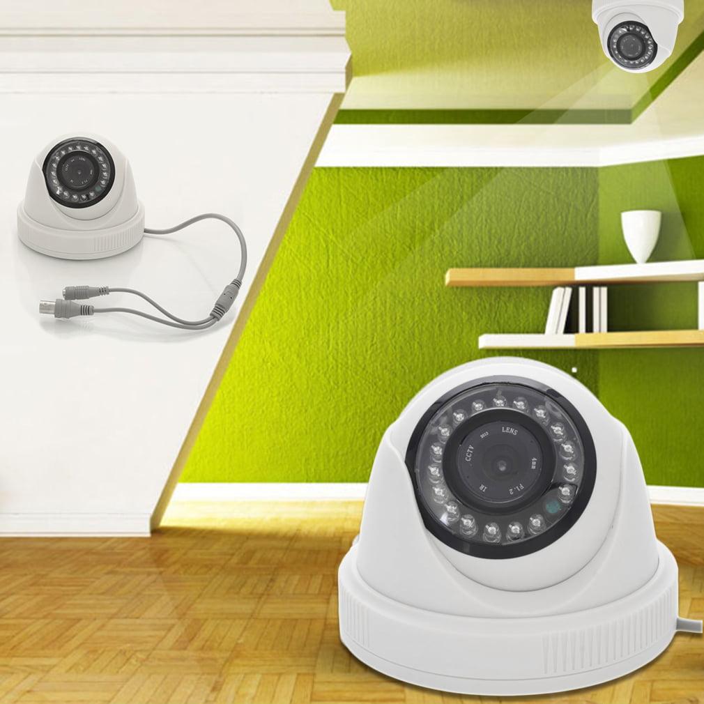 4 Packs JND-538 Outdoor Waterproof 1000TVL CCTV Surveillance Camera Wireless Wifi Camera for Home Security IR Night Vision 720P IP Camera White