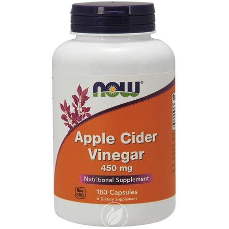 Now Foods - Apple Cider Vinegar 450 mg. - 180 Capsules, Pack of (Slim Fast 180 And Apple Cider Vinegar)