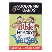 Coloring Cards 52 Verses for K (Other)