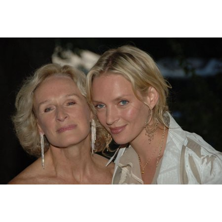 Glenn Close Uma Thurman At Arrivals For Central Park Zoo Wildlife Conservation Safari 2006 The Central Park Zoo New York Ny May 17 2006 Photo By William D BirdEverett Collection (Central Park Zoo)