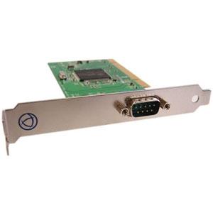 1PORT DB9 SERIAL CARD PCI RS232 16C950 SPEED1 LE LP W/BRACKET