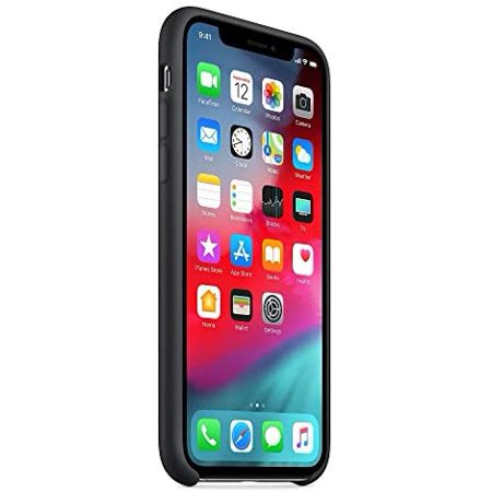 Silicone Case for Apple iPhone Xs Max, Microfiber Clothing, Silk Finish, Shockproof, Anti-Scratch, Qi Wireless Charging - image 3 of 3