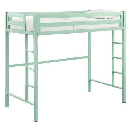 Lovat Green (Walker Edison Bentley Twin Metal Loft Bed)