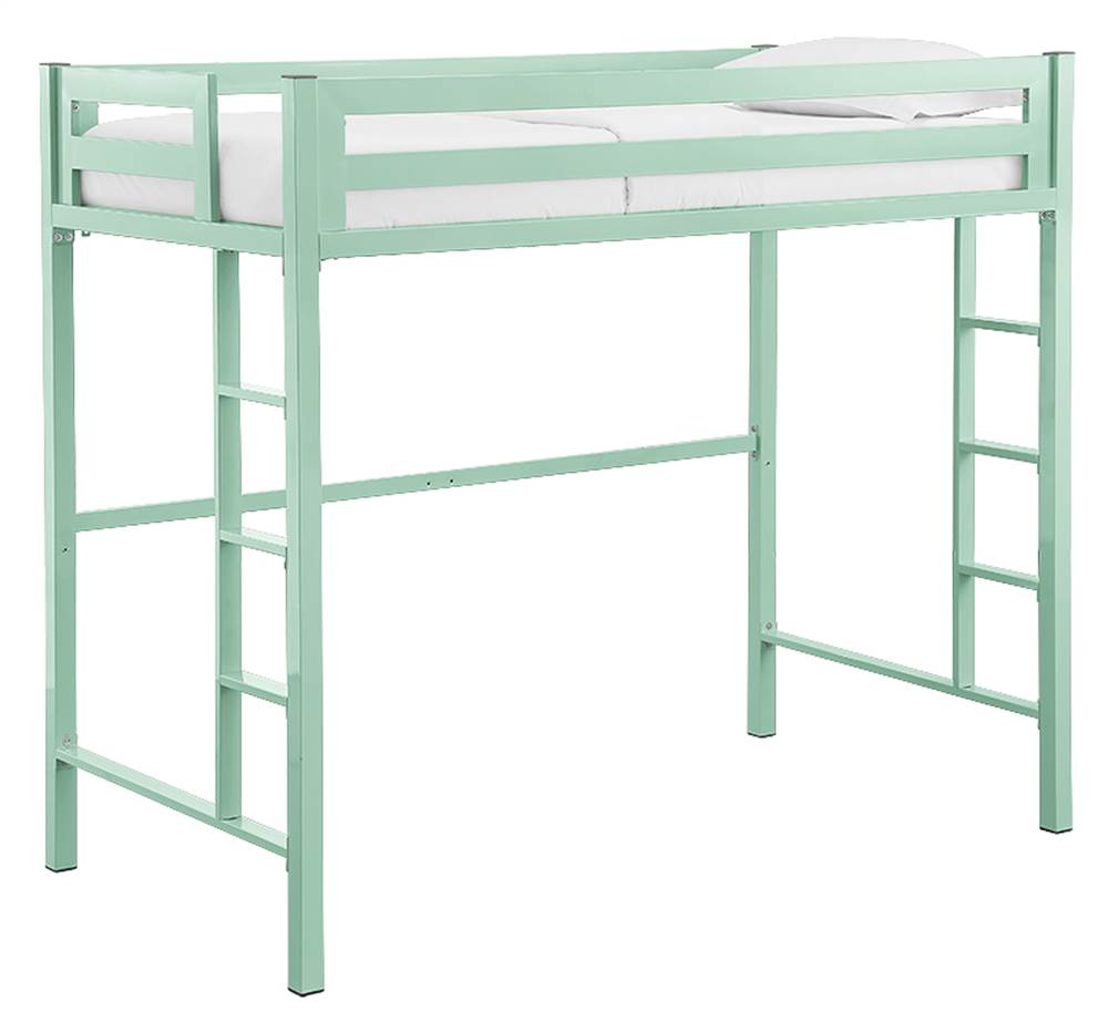 Walker Edison Bentley Twin Metal Loft Bed