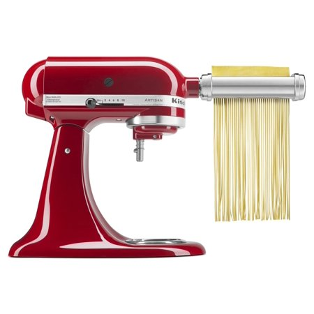 KitchenAid 3-Piece Pasta Roller & Cutter Mixer Attachment Set (Kitchenaid Mixer Ice Cream Maker Attachment)