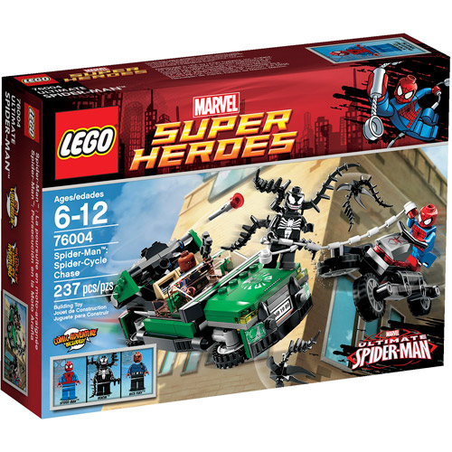 LEGO Super Heroes Spider-Man: Spider-Cycle Chase Play Set - Walmart.com