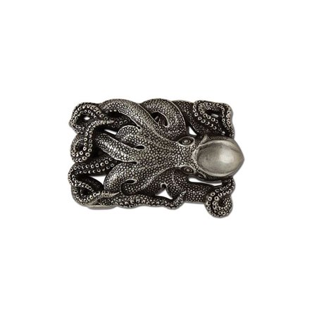 Tandy Leather Octopus Trophy Buckle 1-1/2