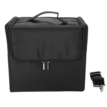 Qiilu Professional Makeup Case Cosmetic