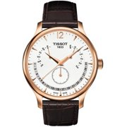 T0636373603700 Tissot Tradition Rose Gold Pvd Perpetual Mens Watch