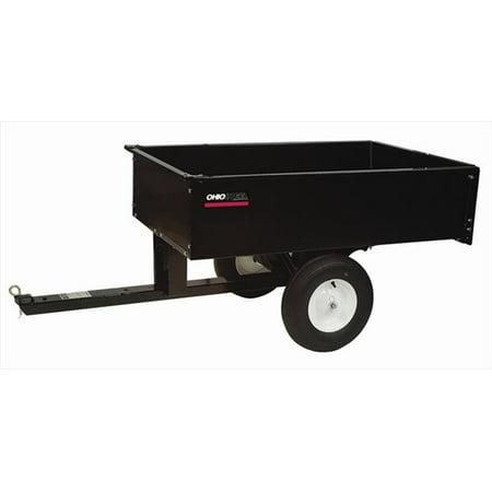 Ohio Steel Industries 3048HKD 10 Cu. ft. Welded Steel Dump Cart; 1000