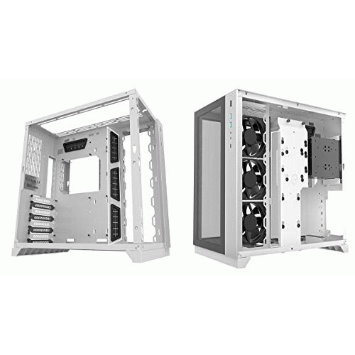 "LIAN LI CASE PC-O11DW Tower White 3.5""x3 or 2.5x6 EATX/ATX 1c"