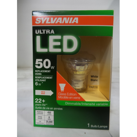 Par16 Gu10 Led (BULB LED ULTRA PAR16 GU10 6W )