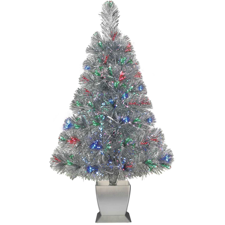 Walmart Fiber Optic Christmas Tree