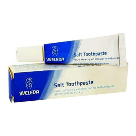 Weleda Salt Toothpaste, Travel Size - 0 44 Oz, 6 Pack