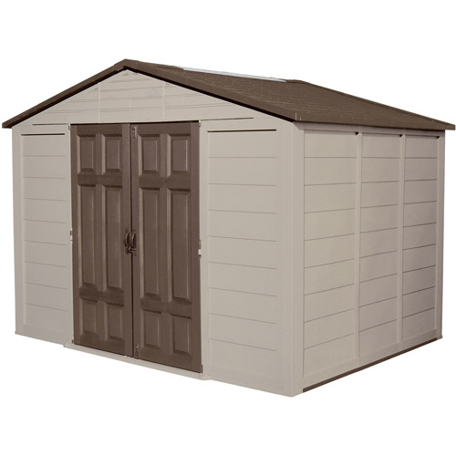 Suncast 10' x 7.5' Shed, Taupe