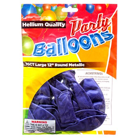 New 374460  Balloon Metallic Purple 12