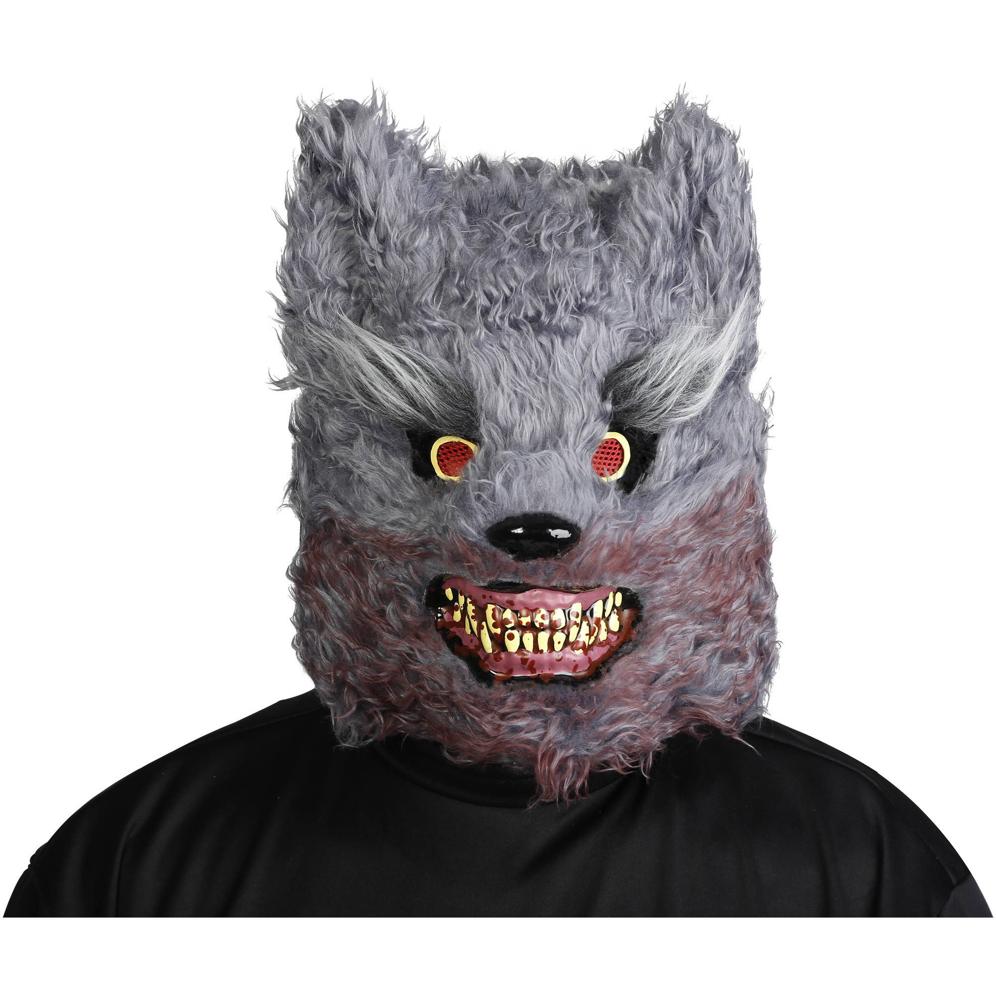 wolf mask adult halloween costume accessory - Wolf Halloween