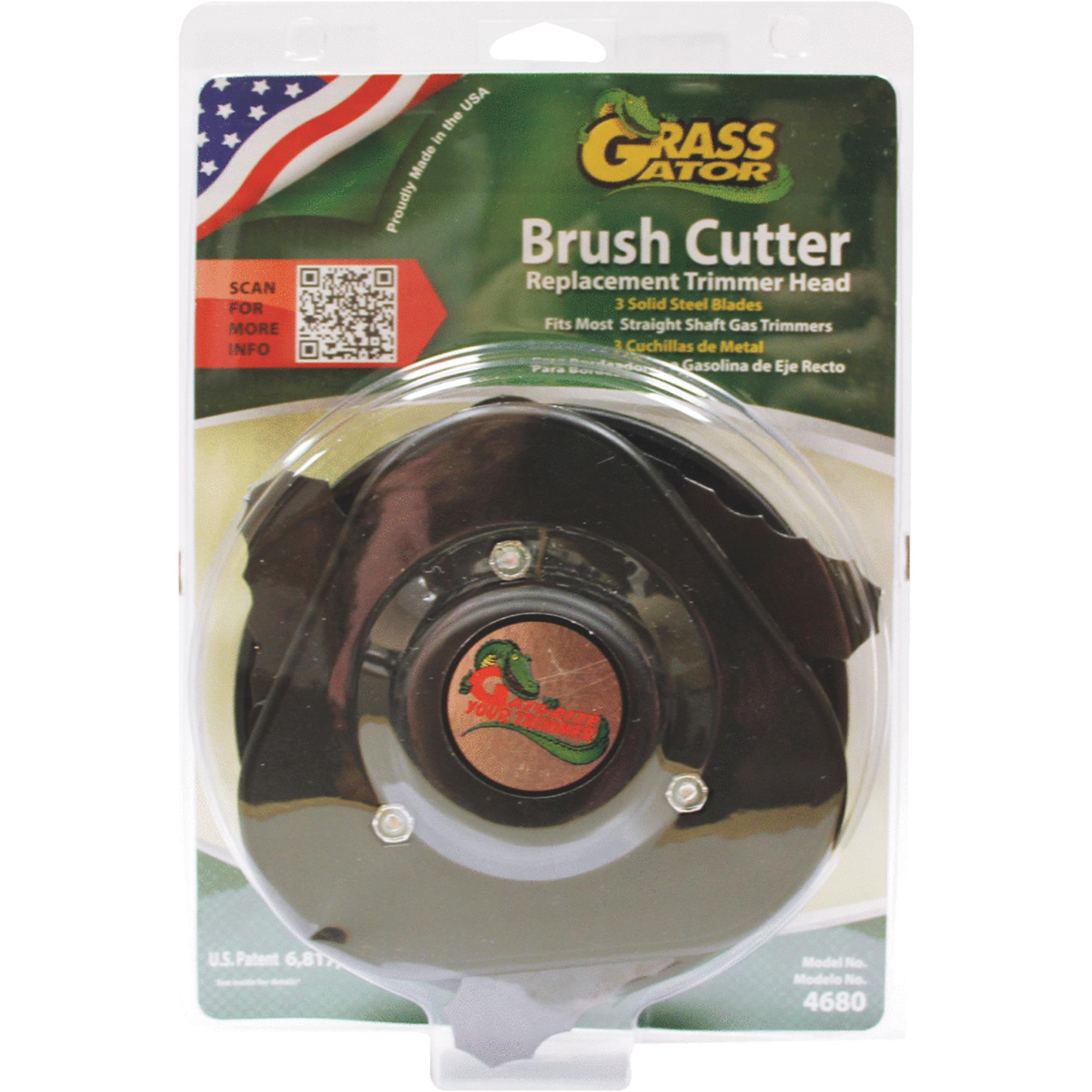 Grass Gator 4680-6 Brush Cutter Head With Metal Blades