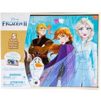 Disney Frozen 2 Wood Puzzles Box Set 5-Pack