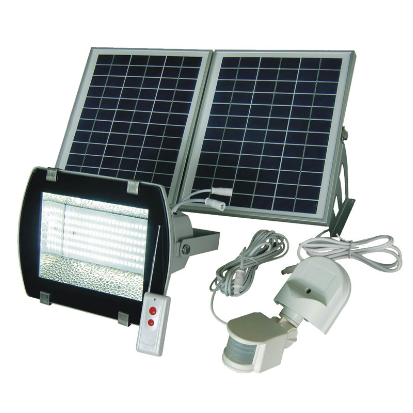 Solar Goes Green SGG-F156-2R Super Bright 156 SMDs Solar Powered Flood Light with Remote... by Solar Goes Green