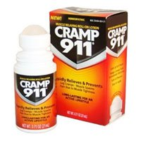 DelCorean Cramp 911  Muscle Relaxing Roll-On Lotion, 0.71