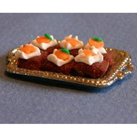 Dollhouse Halloween Brownies](Halloween Brownie Pizza)