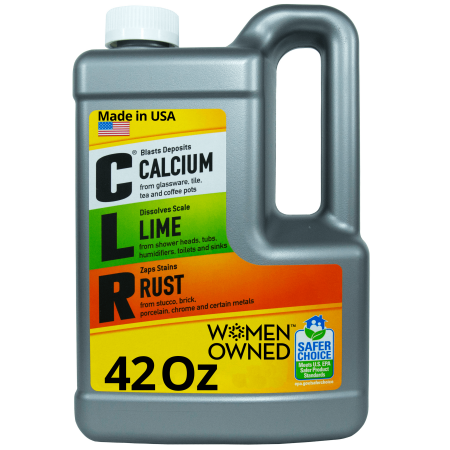 CLR Calcium Lime & Rust Remover, Biodegradable, 42 Oz