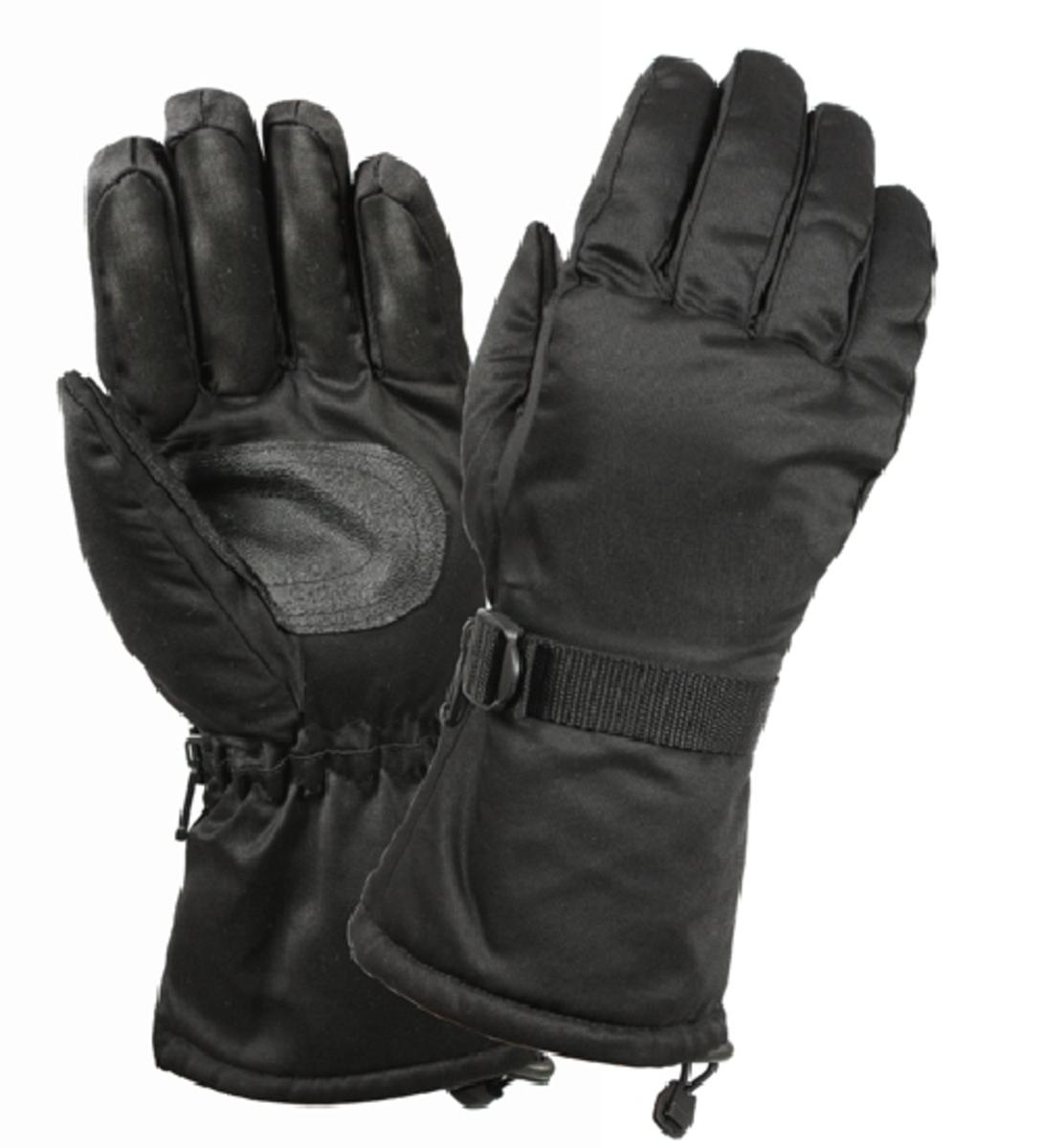 Rothco Black Xtra Long Insulated Gloves by Insulated Gloves
